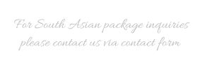 South Asian packages